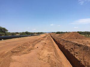 Trench at Mafenya Pipeline