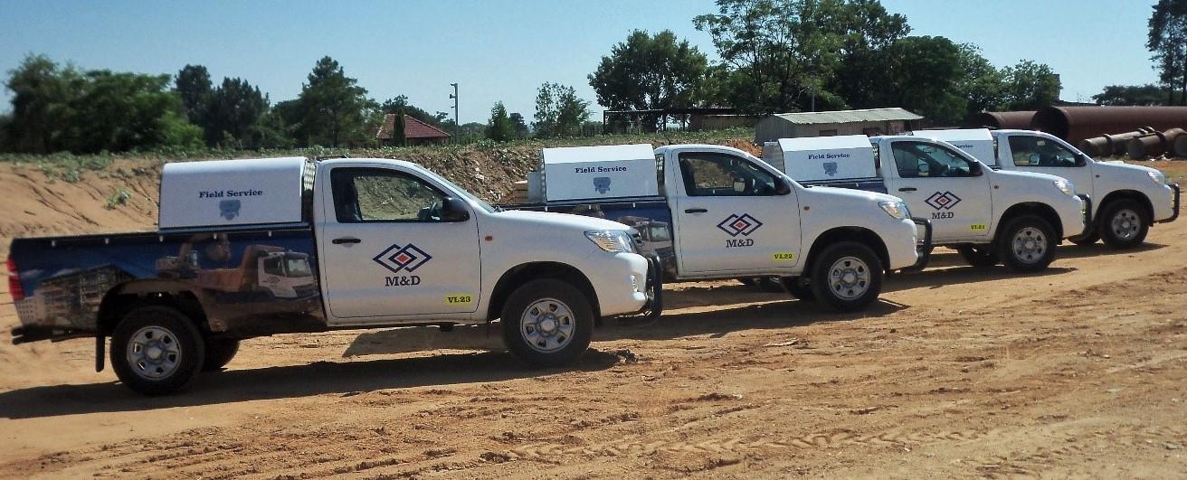 Field Serv vehicles