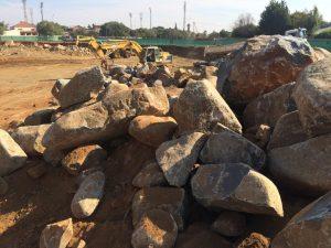 Rock at Kimberley